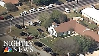 Download Texas Church Shooting: At Least Two Dozen Parishioners Killed | NBC Nightly News Video