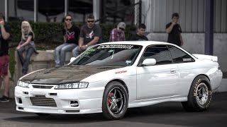 Download 1600hp 2JZ Nissan 240sx - V8 Slayer! Video