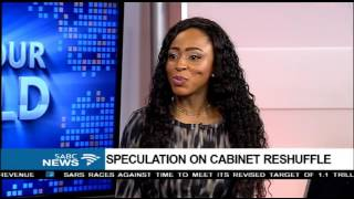 Download DISCUSSION: Speculation on cabinet reshuffle Video