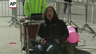 Download Video: 'Not My President's Day' rally in New York Video