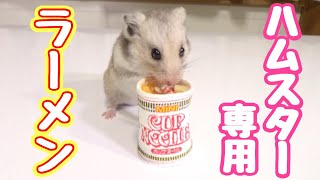 Download ハムスターにカップヌードル作ってあげたら超可愛い!!Making a tiny instant noodle for my hamster! Video