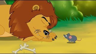 Download Le Lion et le Rat | 1 Conte + 4 comptines et chansons - dessins animés en français Video