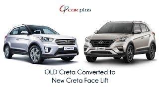 Download #Carplus #Creta | OLD Creta Converted to New Creta Face Lift | Best Quality Only at carplus.in Video