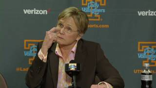 Download Lady Vol Hoops | Holly Warlick Post Game Press Conference Video