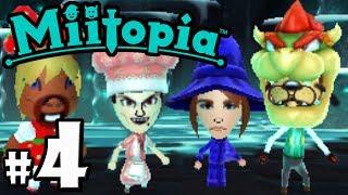 Download Miitopia PART 4 - Goofy's amiibo Armor - Dracula's Donut - Nintendo 3DS Demo Gameplay Walkthrough Video