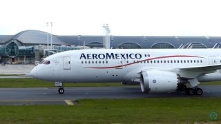 Download *SUPER CLOSE-UP* B787 Aeromexico Arriving in CDG / Lucky Catch ! Video