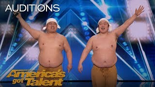 Download Yumbo Dump: Comedic Duo Makes Unbelievable Sounds With Their Bodies - America's Got Talent 2018 Video