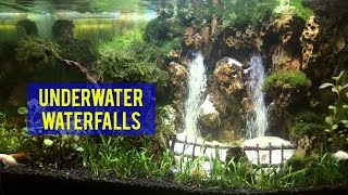 Download How to make under water waterfall | Double waterfalls Video