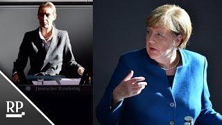 Download Merkel vs. Weidel im Bundestag: Die Kanzlerin ärgert die AfD Video