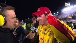 Download Kevin Harvick/Joey Logano Confrontation 2015 NSCS Sprint Unlimited Video