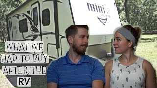 Download WHAT WE HAVE HAD TO BUY AFTER THE RV - OUR FINANCIAL FINDINGS Video