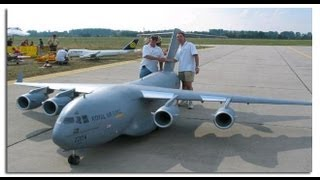 Download NEW BIGGEST RC AIRPLANE IN THE WORLD C-17 Video