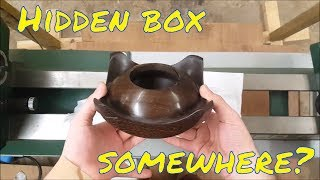 Download Woodturning - Hidden compartment inside a lidded pot... possible? Video