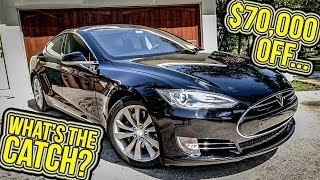 Download The 2013 Tesla Model S Lost $70,000 In Value Over 4 Years...Should You Get One Now? Video