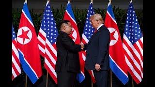 """Download SINGAPUR: Trump bezeichnet das historisches Treffen mit Kim als """"sehr gut"""" Video"""