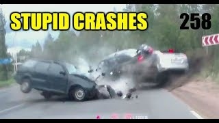Download Stupid driving mistakes 258 (September 2018 English subtitles) Video