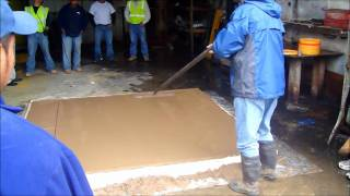Download Integral Colored Concrete and Micro Exposed Aggregate with Stamped Border Video