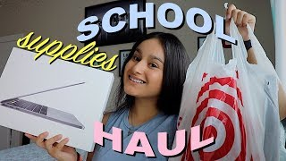 Download SCHOOL SUPPLIES HAUL | College Edition / Back to School!! Video