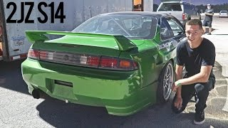 Download First Time Drifting with a 2JZ Video