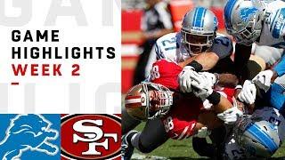 Download Lions vs. 49ers Week 2 Highlights   NFL 2018 Video
