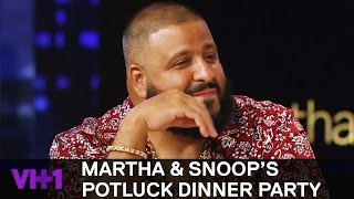 Download DJ Khaled & Robin Thicke Try Viewer Munchie Mash-Ups | Martha & Snoop's Potluck Dinner Party Video