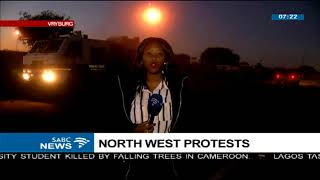 Download Update: North West protests Video