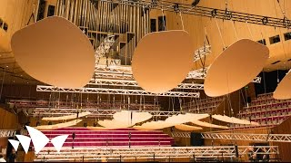 Download Testing New Acoustic Reflectors in the Concert Hall | Sydney Opera House Video