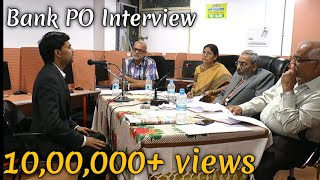 Download IBPS PO MOCK Interview - BANK PO Personal Interview Video
