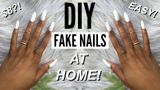 Download DIY: EASY FAKE NAILS AT HOME in 5 Mins!!! (NO ACRYLIC) | Eris The Planet Video