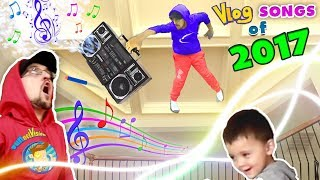 Download WHY'S HE ON MY CEILING!?! FUNnel Vision TWINS! Vlog Songs of 2017 Music Video Video Compilation! Video