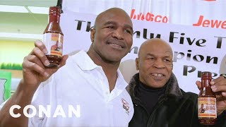 Download Mike Tyson Surprises Evander Holyfield At The Grocery Store Video
