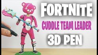 Download 3D Pen   Making Cuddle Team Leader   Fortnite Battle Royale   3D Pen Lab Video