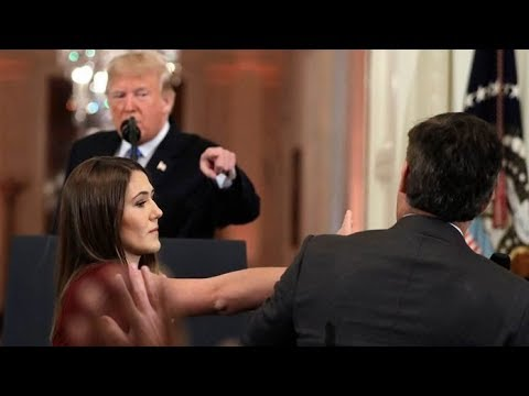 WHITE HOUSE PULLS CNN JIM ACOSTA'S PRESS PASS AFTER REFUSING TO GIVE UP MICROPHONE TO STAFFER