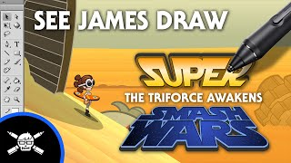 Download See James Draw - The Triforce Awakens! Part 1 Video