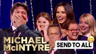 Download Funniest Celebrity Send To All Replies! | Michael McIntyre Video
