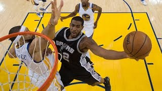 Download LaMarcus Aldridge, Kawhi Leonard and Manu Ginobili lead the Spurs in Game 1 | May 14, 2017 Video