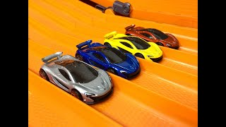 Download Mclaren P1 RACE & REVIEW (All Colors) - Hot Wheels Video