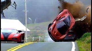 Download SUPERCAR CRASH FAILS #1 - Crashes and Fails - Crash Comps Video
