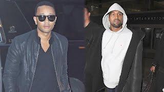 Download John Legend Saw Warning Signs Before Kanye West was Hospitalized | Splash News TV Video