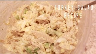 Download Turkey Salad Recipe (The Best Thanksgiving Leftovers!) Video