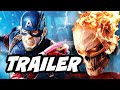 Download Agents Of SHIELD Season 4 Episode 1 Ghost Rider Trailer and Captain America Easter Eggs Video