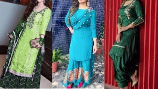 Download New Stylish Punjabi Dresses Design Idea 2019// Partywear Salwar Suit Design Collection Video