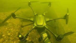 Download I Found a Crashed Drone Underwater While Scuba Diving! (Returned to Owner) Video