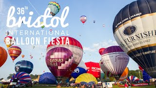 Download Bristol Balloon Fiesta 2014 Timelapse Film Video