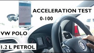 Download Volkswagen Polo 0-100 km/h Acceleration Test - 1.2L MPI Petrol Manual Video