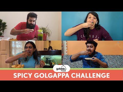 Gobble | Extreme Spicy Golgappa Challenge | गोलगप्पा | Dare to eat this Pani Puri