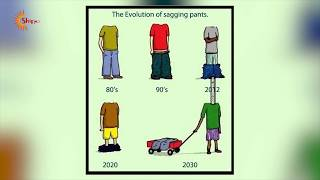 Download Funny and Painful illustration About the Evolution That Will Make You Think Video