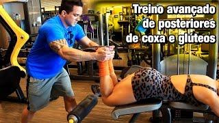 Download Treino avançado de posteriores de coxa e glúteos com Mara Souza e treinador Thiago Aguiar Video