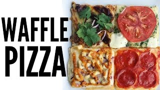 Download WAFFLE PIZZA - 4 Ways (inspired by Seoul Pizza) | You Made What?! Video