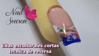 Como Hacer Almendra Exotica Con Flores 3d Unas De Acrilico Free